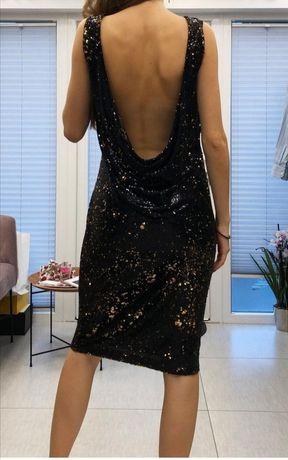 Sukienka cekiny Zara