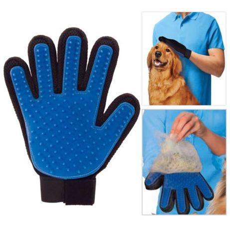 Luva para animais domésticos