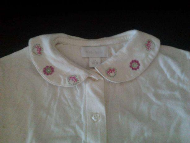 Camisa de Menina com manga M criança com 3 anos