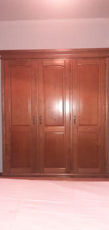 Móveis quarto madeira de CASTANHO maciço