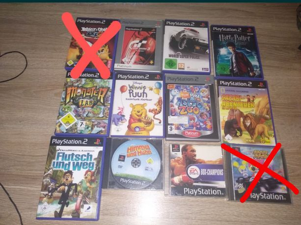 10 Gier PS2 i PS1 Gran Turismo 3 Harry Potter...