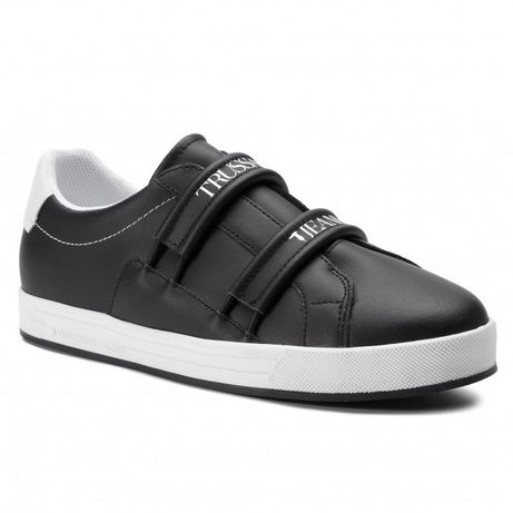 Trussardi Jeans! Super Leather Sneakers!