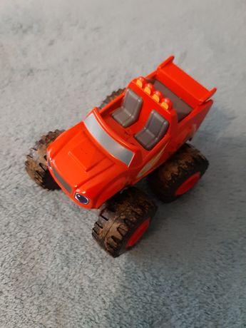 Blaze i megamaszyny pojazd ubłocony