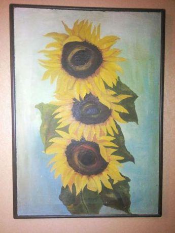 Sprzedam obraz Słoneczniki