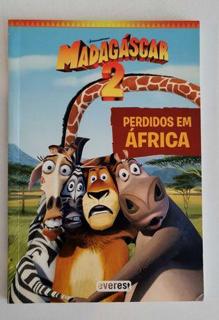Livro Madagáscar 2 - Perdidos em África