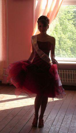 Платье миди, платье на карнавал, выпускной, сукня 40-42-44р