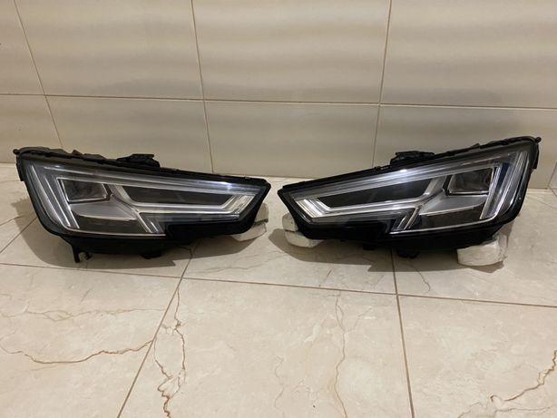 Передние фары Audi A4 b9 full led в наличии