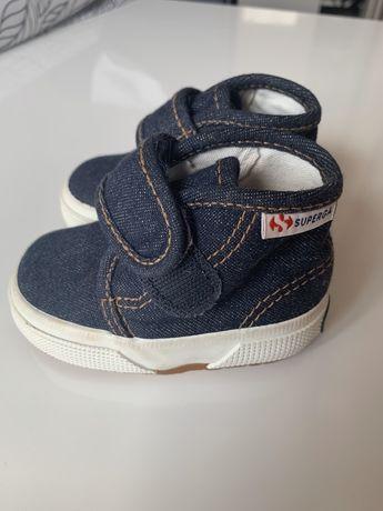 Buty tenisówki dziecięce Sneakersy superga 18
