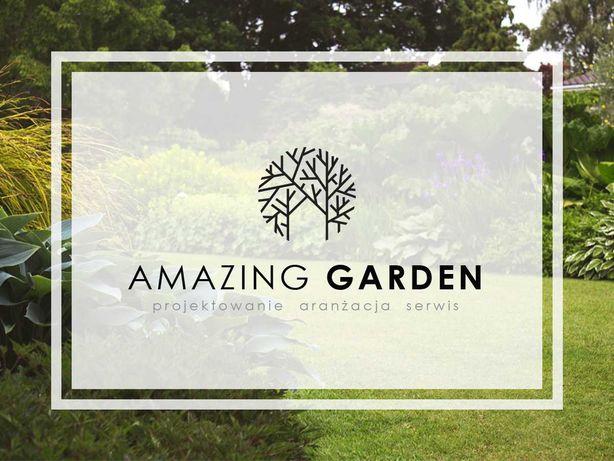 Zakładanie i pielęgnacja ogrodów, koszenie trawników