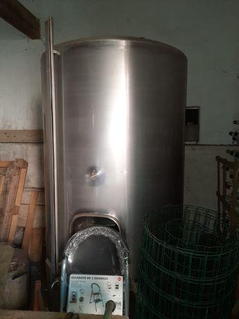 Cuba Inox 1500 litros