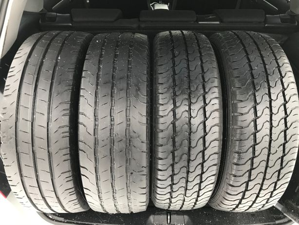 CONTINENTAL DUNLOP 205 65 R16C VW T5 Mercedes Vito Ford Transit Ducato