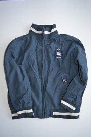 Двусторонняя куртка ветровка бомбер j.lambs