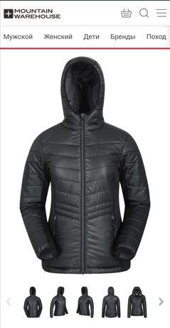 Куртка деми, спортивная, чёрная р50