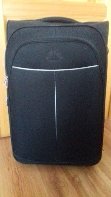 "walizka dużą czarna ""Airtex Paris"" 2 kółka"