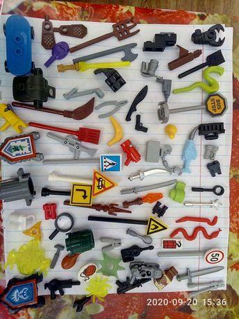 Лего инструменты оружия аксессуары