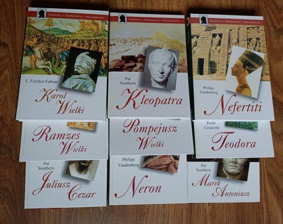 Seria książek o wielkich postaciach historycznych