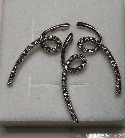 Srebrny (925) kpl biżuterii - kolczyki, zawieszka