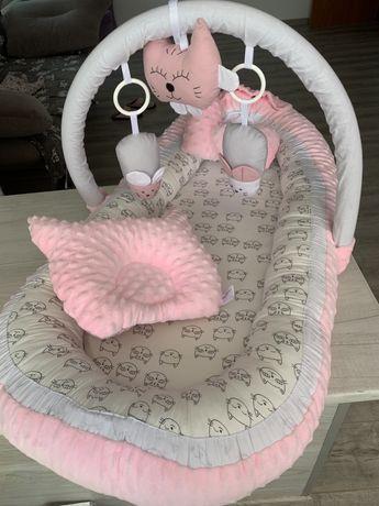 Кокон для младенцев от 0 до 3 месяцев фирмы happy luna