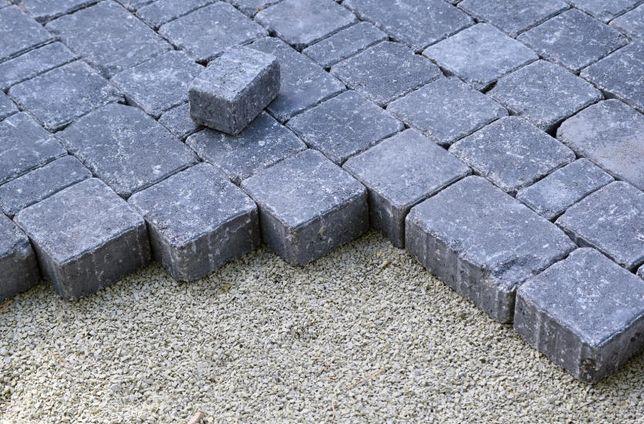 Mączka granitowa piasek granitowy wysiewka grys kostka brukowa fuga
