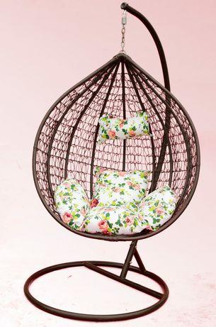 Fotel huśtawka kokon wiszący prezent promocja