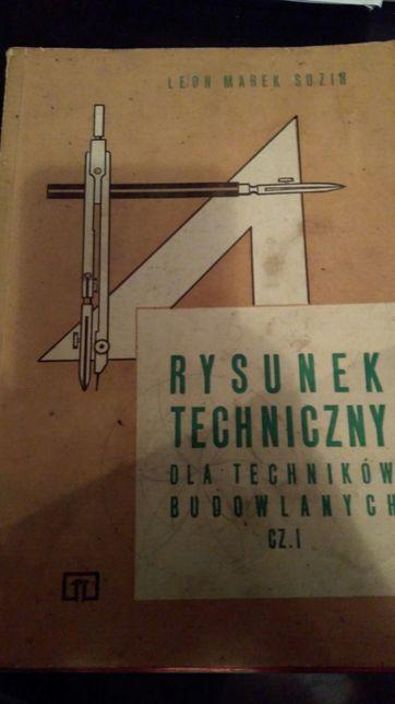 Rysunek techniczny dla techników budowlanych cz. 1 Suzin