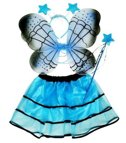 Fato de fada-borboleta, carnaval, festa