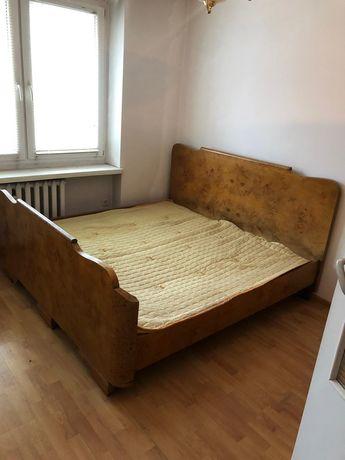 Łóżko i szafa antyk