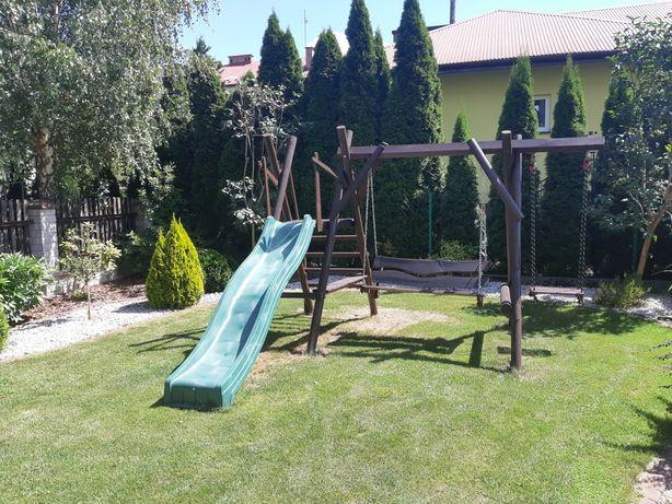 Hustawka, zjeżdżalnia ogrodowa