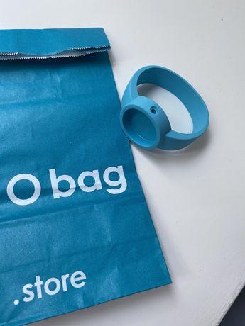Ремешок O bag Oclock селиконовый, размер М цвет бирюза, голубой