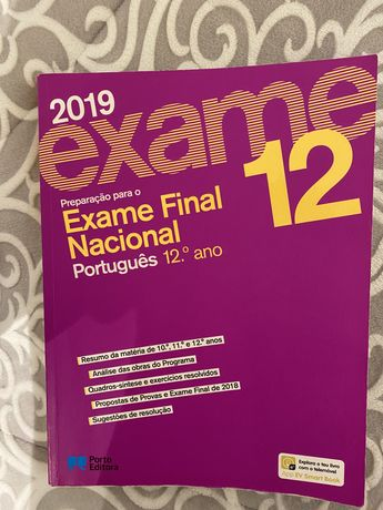 Livro exame nacional de português 12ano