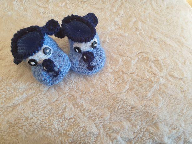 Sapatos meias de bebé NOVOS feitos artesanalmente