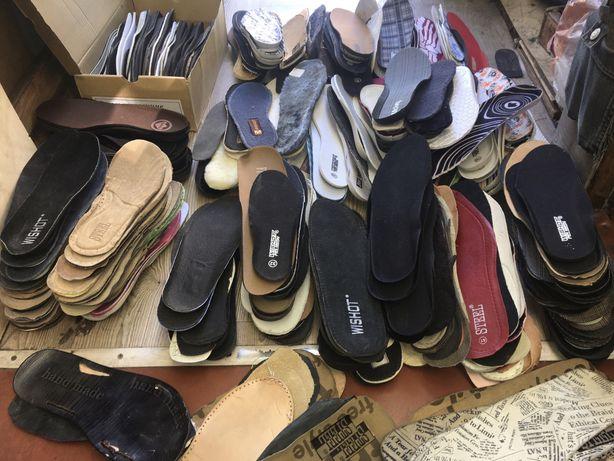Продам стельки и шнурки