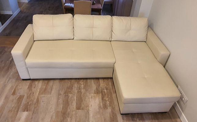 Sofa ikea 3 lugares, c/ cama casal e chaise longe