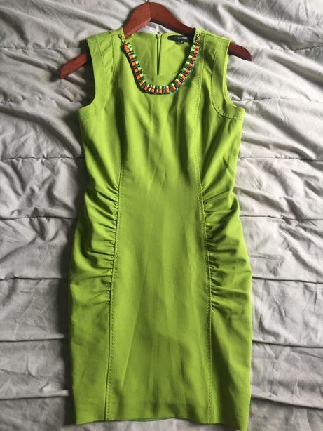 Платье футляр в обтяжку красивое яркое гусеница Gucci