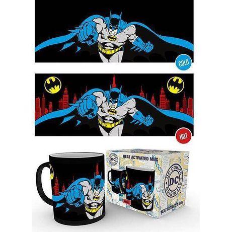 Batman DC Comics kubek zmieniający tło