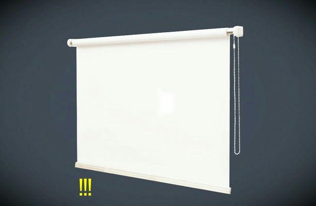 Экран для проектора 2.2*1.8 с механизмом. Возможен любой размер и тип.