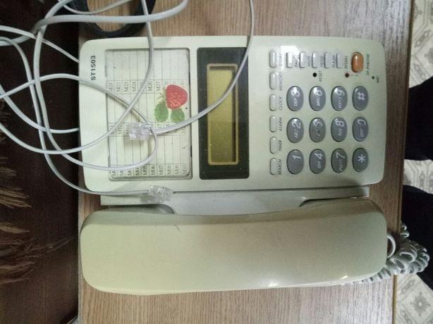 Телефон стационарный электронный