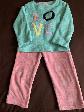 Sportsdirect Crafted Очень теплая флисовая пижама для девочки