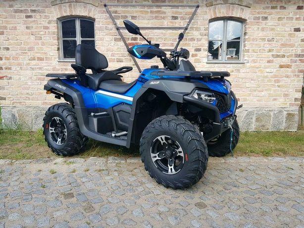 На Октябрь! Новый Квадроцикл CF moto 625 touring