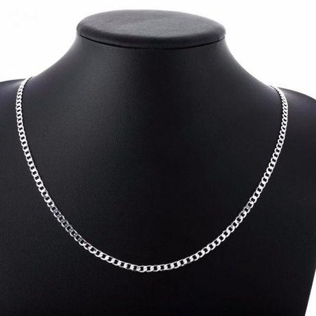 Мужская серебряная ЦЕПЬ 925 пробы 55 см № 2