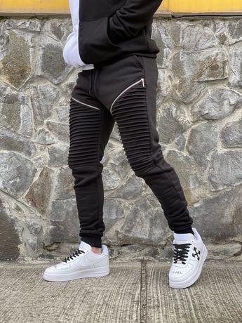 Спортивные зауженные штаны джоггеры Jogger в стиле NIKE Jordan замок