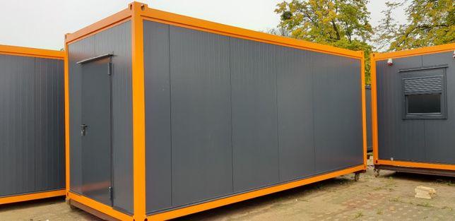 Kontenery biurowe i socjalne 20'HC OfficeBox (6m) na wynajem