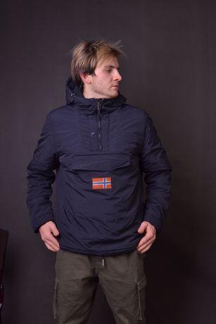 Зимняя куртка napapijri анорак berghaus