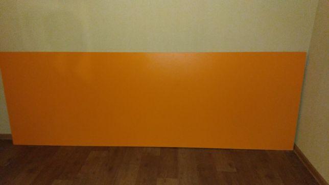 Лист ДСП ламинированный. Цвет апельсин