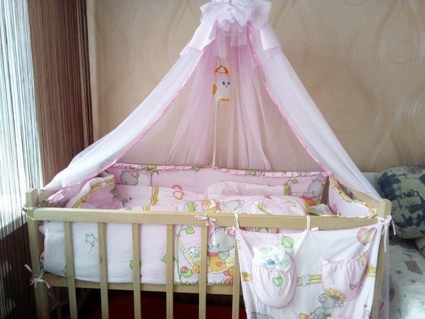 Комплект постельного в детскую кровать