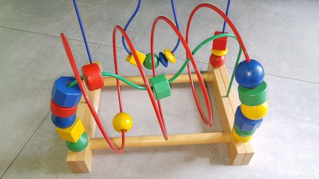 Zabawka edukacyjna, sensoryczna przekładanka Mula Ikea.