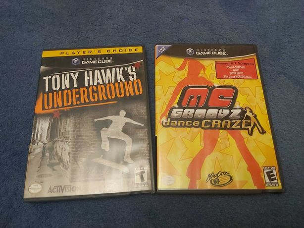 Gry Nintendo Gamecube - Tony Hawk Underground + gratis Dance Craze