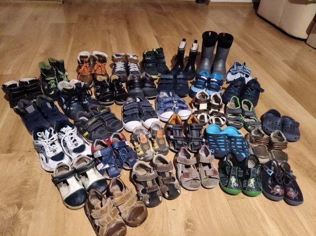 zestaw butów od 20 do 27