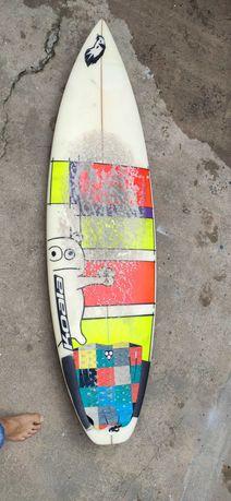 "Prancha surf Shortboard KoalaSurfboards 5´10"" usada"