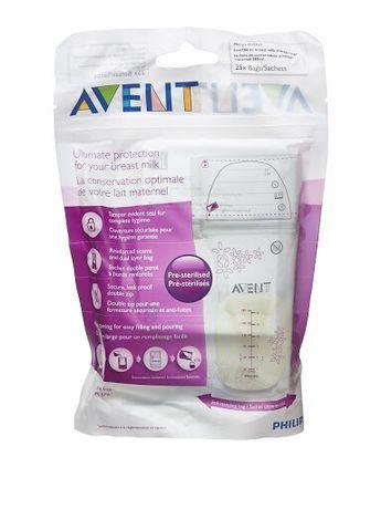 Пакеты для хранения грудного молока Philips Avent, 23 шт.